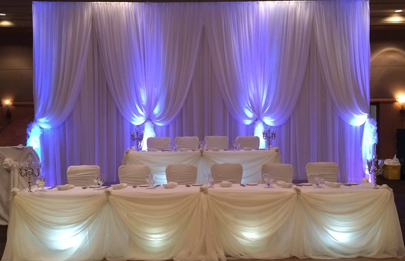 head table package  just  199 with free shipping both ways nationwide