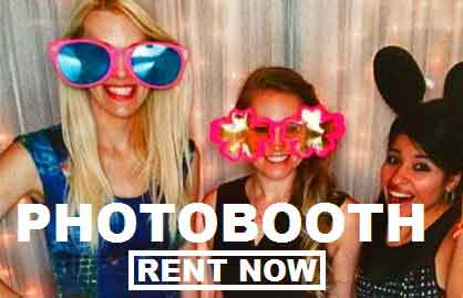 Rent a photobooth! Free shipping  nationwide with www.RentMyWedding.com
