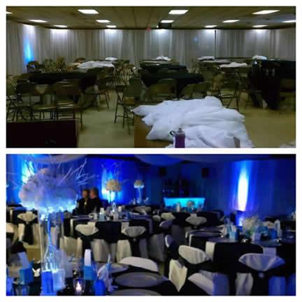 Wedding trends rent uplighting gobos accessories more diy uplighting solutioingenieria Gallery