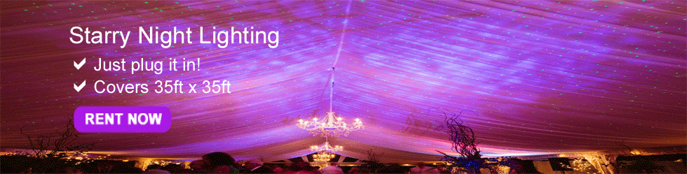 Starry Night Lighting Rental