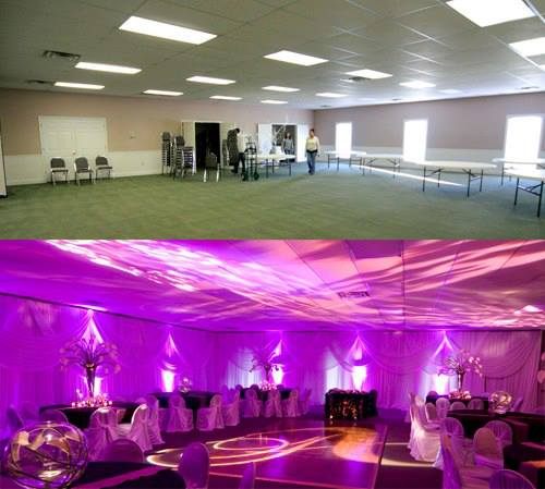 Before and After Uplighting wedding lighting uplighting before and after up lights & Rent Up Lights with FREE Shipping Nationwide for Weddings and ... azcodes.com