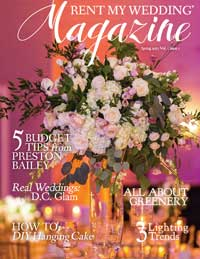 Rent My Wedding Magazine Spring 2017