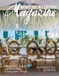Rent My Wedding Magazine Summer 2017