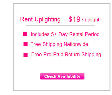 Rent Uplighting