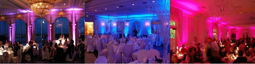 rent uplighting, nationwide up lights, wedding lighting