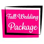 Fall Wedding Package